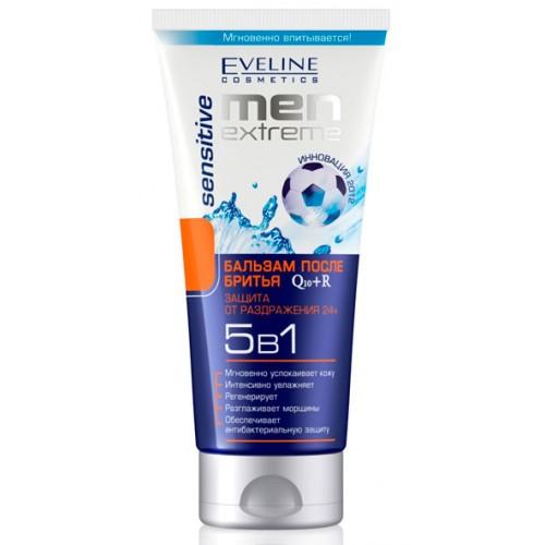 Eveline Men Extreme Sensitive Q10+r Бальзам 5в1 после бритья 200 мл.