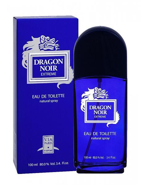 Via Paris Parfums Dragon Noir Extreme men Туалетная вода 100 мл.