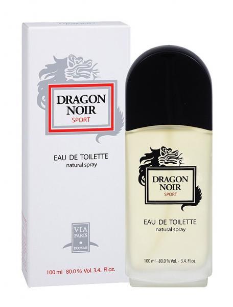 Via Paris Parfums Dragon Noir Sport men Туалетная вода 100 мл.