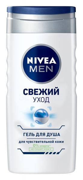 Nivea Men Свежий Уход Гель для душа 250 мл.