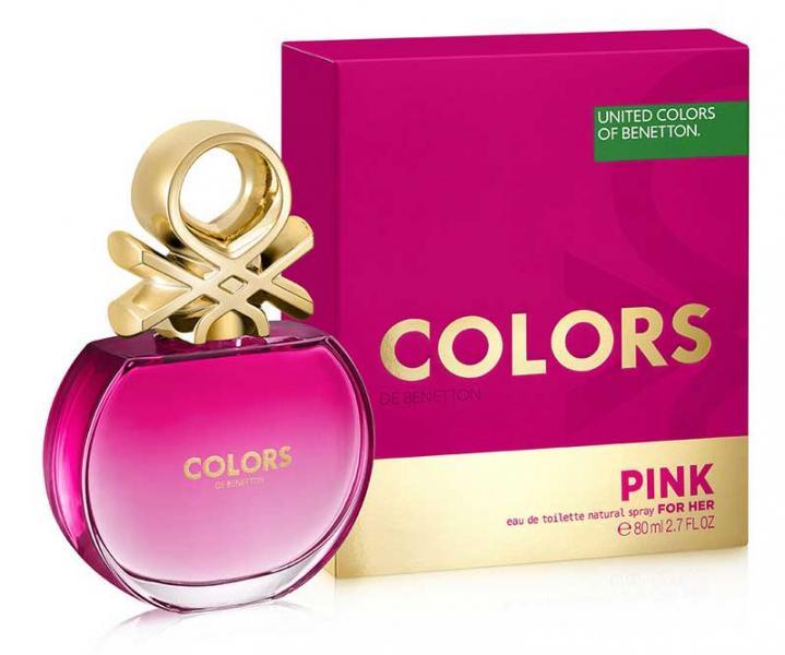 Benetton woman Colors De Benetton Pink Туалетная вода 50 мл.