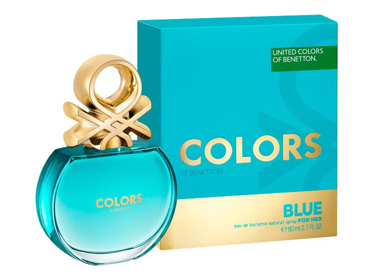 Benetton woman Colors De Benetton Blue Туалетная вода 50 мл.