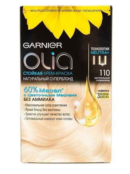 Garnier Olia Крем-краска для волос №110 натуральный суперблонд