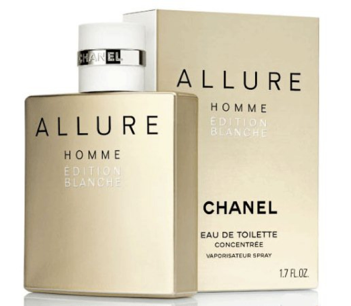 Chanel men Allure Edition Blanche Туалетная вода 50 мл. (concentree)