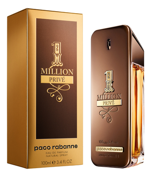 Paco Rabanne men 1 Million Prive Туалетные духи 50 мл.