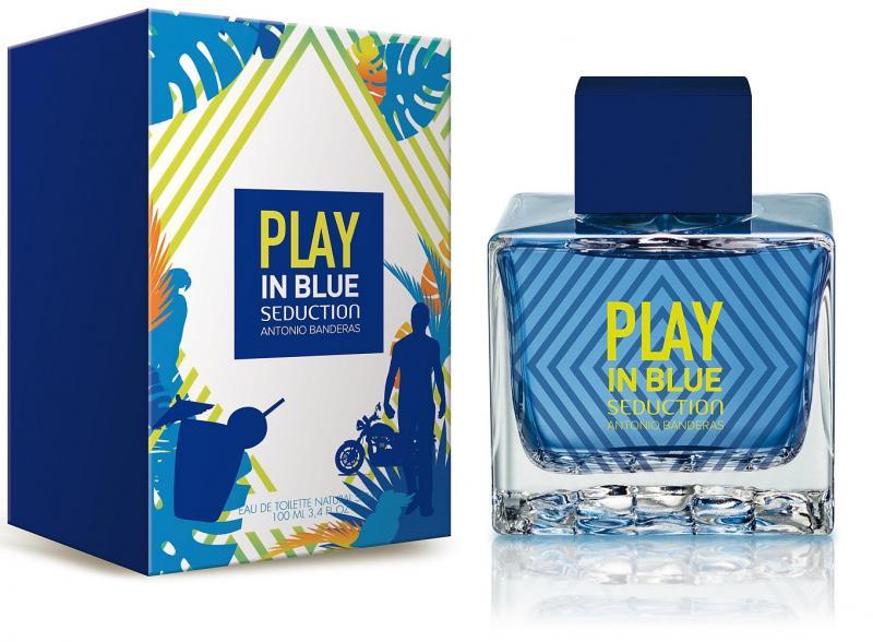 Antonio Banderas A. Banderas men Play In Blue Seduction Туалетная вода 100 мл.