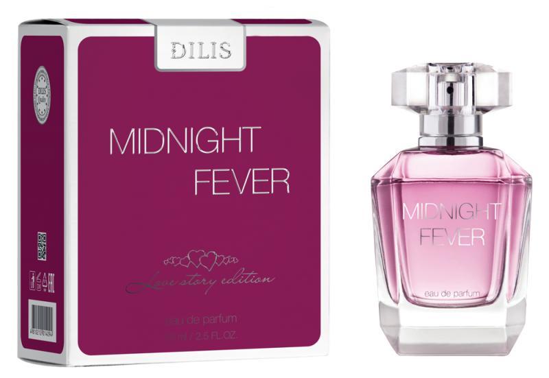 Dilis woman (love Story Edition) Midnight Fever Туалетные духи 75 мл.