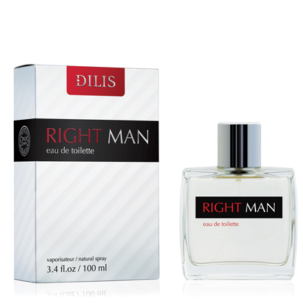 Dilis Right Man Туалетная вода 100 мл. (hugo Boss Bottled Intense)