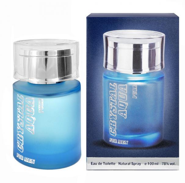 Parfums Genty men Crystal Aqua Pure Туалетная вода 100 мл.