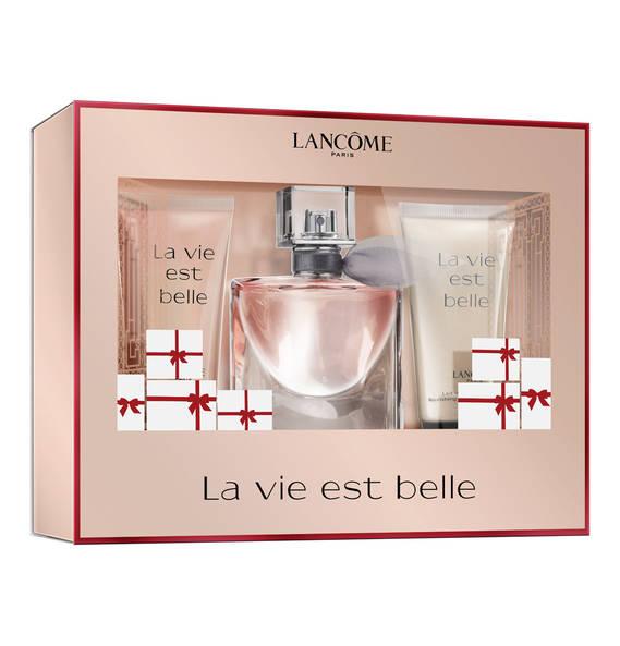 Lancome woman La Vie Est Belle Набор: Туалетные духи 30 мл. +лосьон д/тела 50 мл.+гель д/д 50 мл.