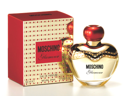Moschino woman Glamour (красный) Туалетные духи 50 мл.