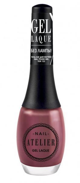 Vivienne Sabo Nail Atelier Гель-лак для ногтей 12 мл. №122 (терракотово-розовый)