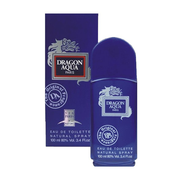 Via Paris Parfums Dragon Aqua men Туалетная вода 100 мл.