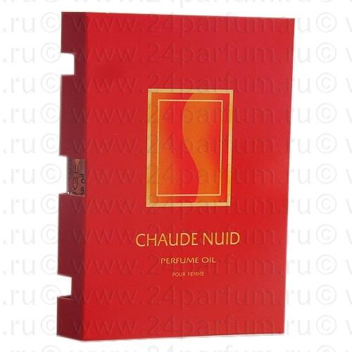 "Парфюмерные масла ""Light Aroma"" парфюм.масло пробник на открытке Chaude Nuid - Красный 1.5 мл. (chanel Coco Mademoiselle)"