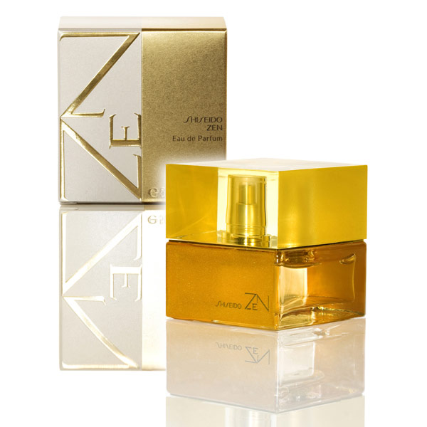 Shiseido woman Zen (2007) Туалетные духи 30 мл. (золотой)