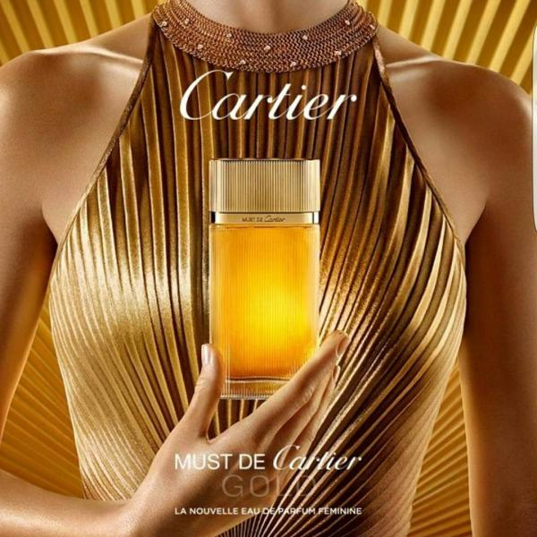 Cartier Woman Must De Cartier Gold туалетные духи 100 мл Tester
